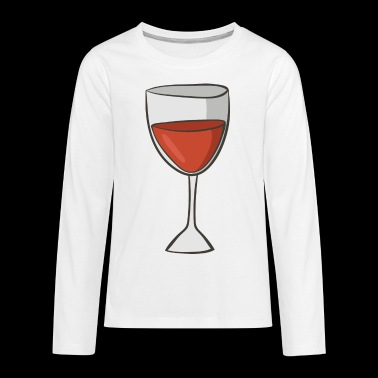 red wine - Teenagers' Premium Longsleeve Shirt