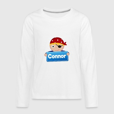 Little Pirate Connor - Teenagers' Premium Longsleeve Shirt