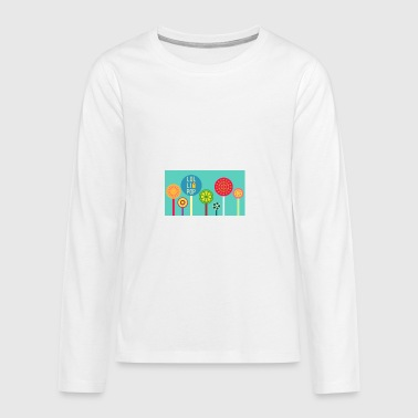 lollipop - Teenagers' Premium Longsleeve Shirt