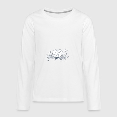 bird - Teenagers' Premium Longsleeve Shirt