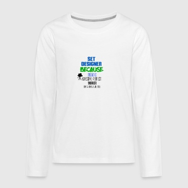 Set of designers - Teenagers' Premium Longsleeve Shirt