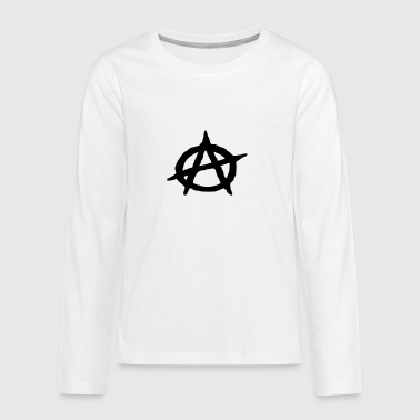 Anarchie - Teenager Premium Langarmshirt