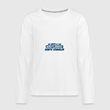 wife - Teenagers' Premium Longsleeve Shirt