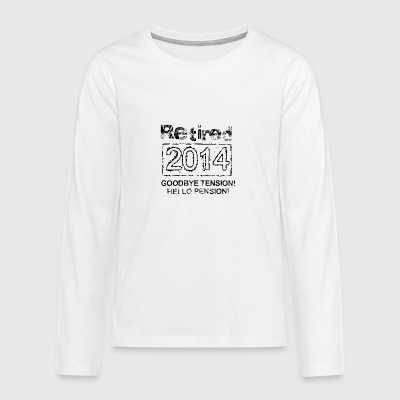 Retired 2014 - Teenager Premium Langarmshirt