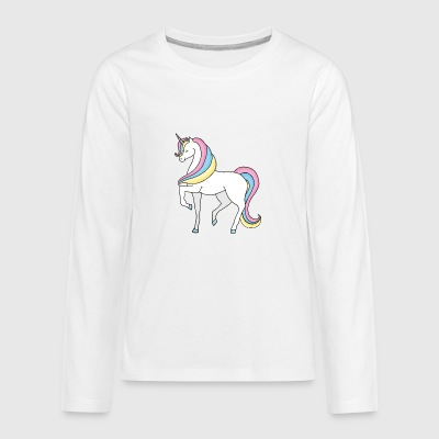 Unicorn - Teenagers' Premium Longsleeve Shirt