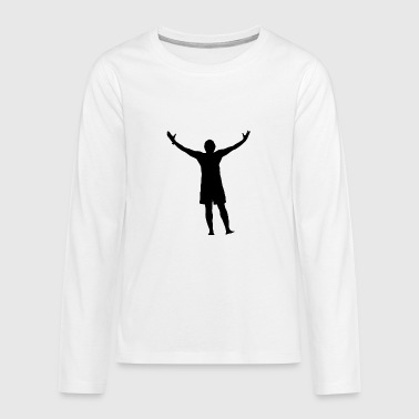 winner - Teenagers' Premium Longsleeve Shirt