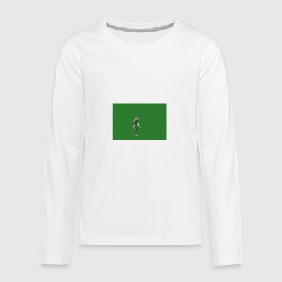 Golf - Teenager Premium Langarmshirt
