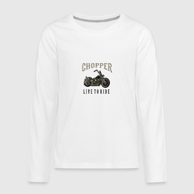 chopper - Teenagers' Premium Longsleeve Shirt