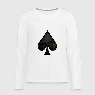 Pik card - Teenagers' Premium Longsleeve Shirt