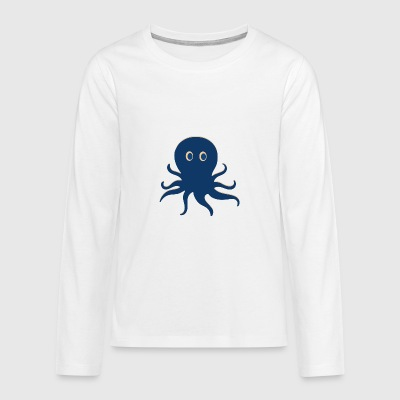 Pirate Octopus - Teenager Premium Langarmshirt