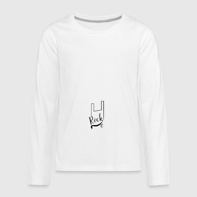Rock it - Teenagers' Premium Longsleeve Shirt