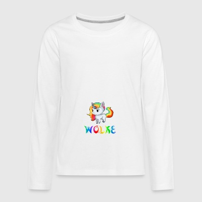 Cloud unicorn - Teenagers' Premium Longsleeve Shirt