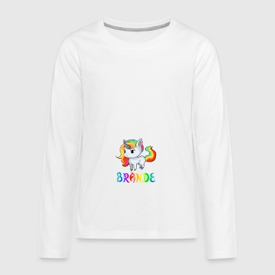 Unicorn fires - Teenagers' Premium Longsleeve Shirt