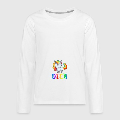 Unicorn Dick - Teenagers' Premium Longsleeve Shirt