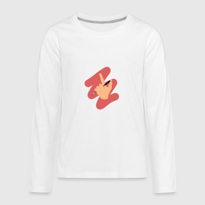 A Writers Power - Teenagers' Premium Longsleeve Shirt