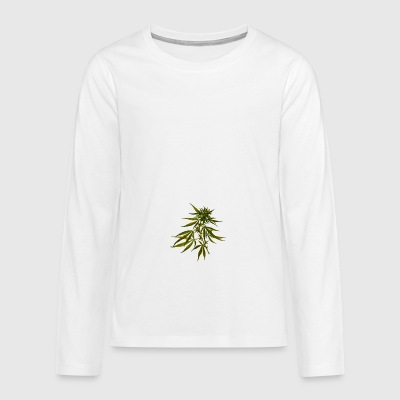 cannabis - Teenagers' Premium Longsleeve Shirt