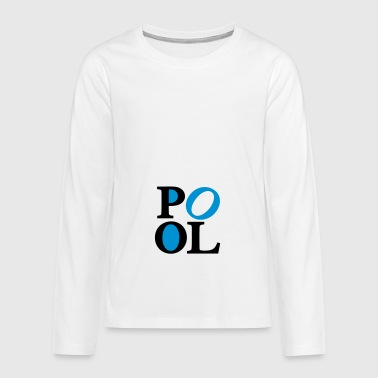 2541614 119707214 pool - Teenagers' Premium Longsleeve Shirt