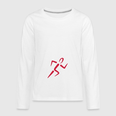 2541614 12551594 run - Teenagers' Premium Longsleeve Shirt