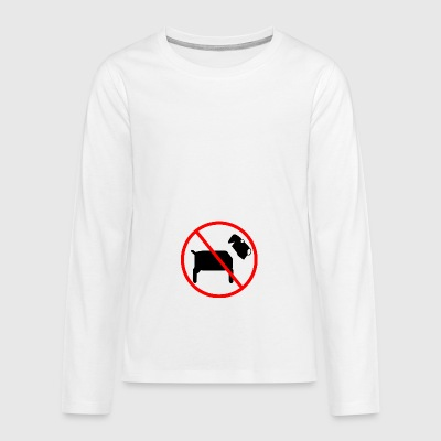 No dog - no dog - Teenagers' Premium Longsleeve Shirt