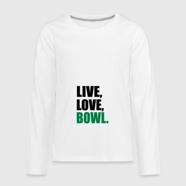 2541614 13914308 bowl - Teenager Premium Langarmshirt