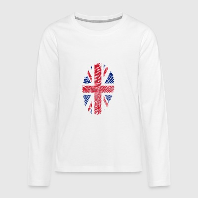 United Kingdom Id - Teenager Premium shirt met lange mouwen