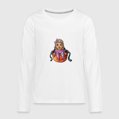 Little baby climber 9 - Teenagers' Premium Longsleeve Shirt