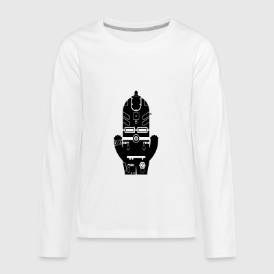 Tekkno Monster - Tech Monster Collection - Teenagers' Premium Longsleeve Shirt