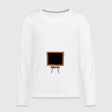 blackboard - Teenagers' Premium Longsleeve Shirt