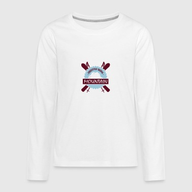 FREESTYLE SKIING - T-shirt manches longues Premium Ado
