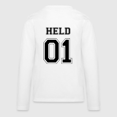 HELD 01 - Black Edition - Teenagers' Premium Longsleeve Shirt