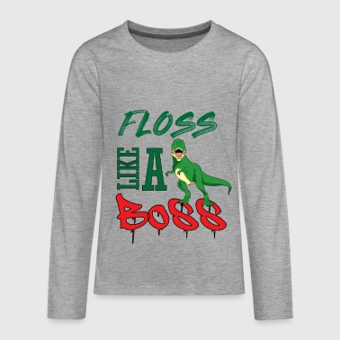 Floss like a Boss - Teenager Premium Langarmshirt
