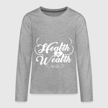 Health - Teenagers' Premium Longsleeve Shirt