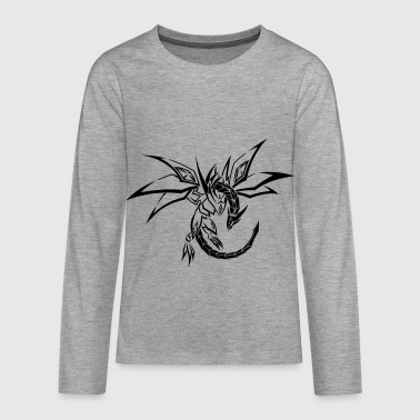 Tribal Dragon Dragon Tribal - Teenagers' Premium Longsleeve Shirt
