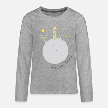 The Little Prince Asteroid B612 Illustration - Teenage Premium Longsleeve Shirt