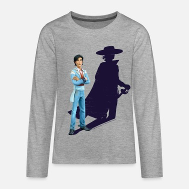 Zorro The Chronicles Don Diego Shadow - Teenage Premium Longsleeve Shirt
