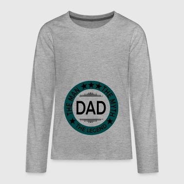 Father's Day Father's Day gift - Teenagers' Premium Longsleeve Shirt