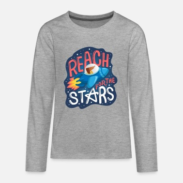 Reach for the stars - Teenagers' Premium Longsleeve Shirt