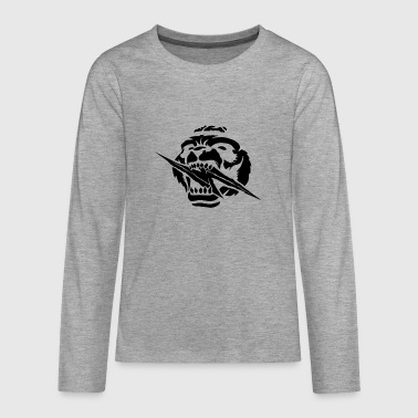 Panda flash - Teenagers' Premium Longsleeve Shirt