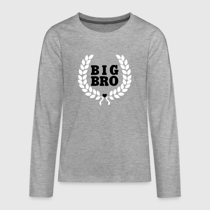 Big Bro - Big Brother - Großer Bruder - Teenager Premium Langarmshirt