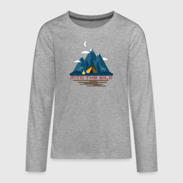 Into the wild - Teenagers' Premium Longsleeve Shirt