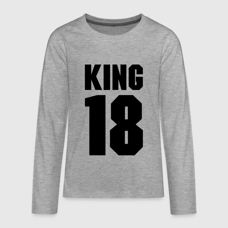 King 18 - Teenagers' Premium Longsleeve Shirt