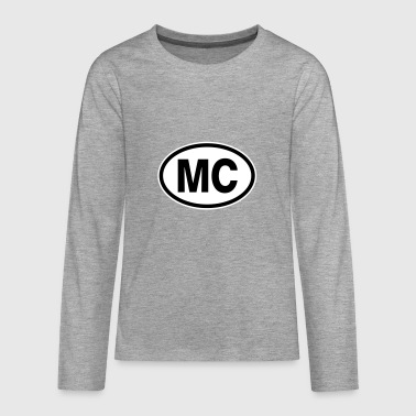 MC Monaco - Teenagers' Premium Longsleeve Shirt