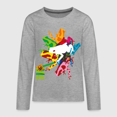 Animal Planet Teenager Longsleeve Shirt Frog - Teenagers' Premium Longsleeve Shirt