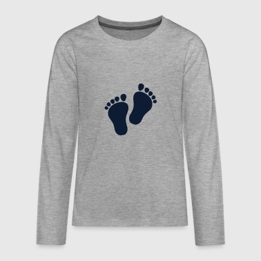 Lapsi Feet - Teenagers' Premium Longsleeve Shirt