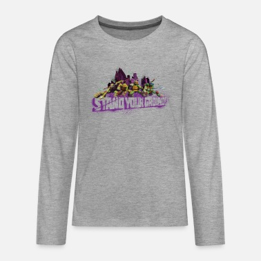 Teenager Premium Longsleeve TURTLES 'Stand your gr - Teenage Premium Longsleeve Shirt
