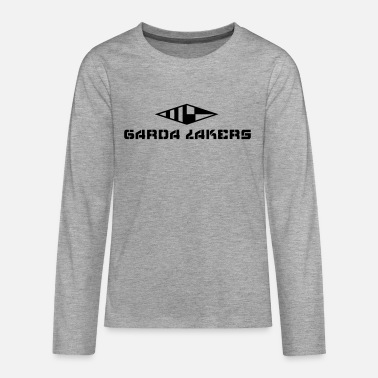 Garda Lakers logo - Teenage Premium Longsleeve Shirt