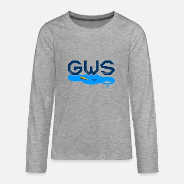 Global Global Warming Snowman - Teenage Premium Longsleeve Shirt