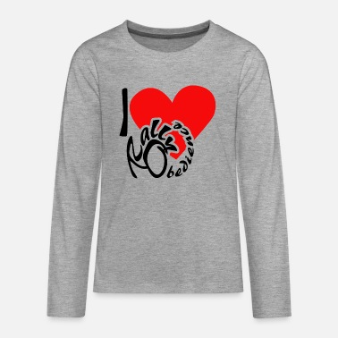Rally Obedience I love Rally Obedience - Teenage Premium Longsleeve Shirt