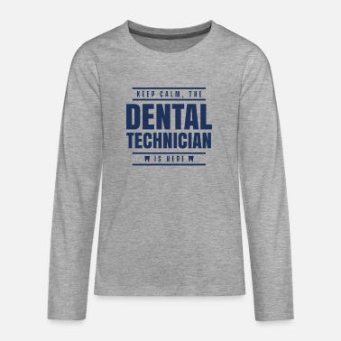 Dental Technician Dad Team dental technician dental technician - Teenage Premium Longsleeve Shirt