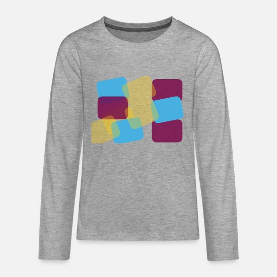 Enviromental Long Sleeve Shirts - colour - Teenage Premium Longsleeve Shirt heather grey